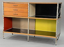 Charles and Ray Eames ESU 200C Herman Miller/1990. ht. 32