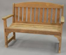 Outdoor bench. wd. 47