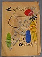After Joan Miro (1893-1983) GALERIE MAEGHT Miro Art Sculptures Graphique poster inscribed lower right Miro  - 27