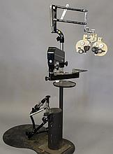 Reliance Koenigkramer Ophthalmology Optometry stand Professional Equipment eye examination s/n 50198, ht. 67 in.