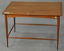 Danish Modern occasional table (watermark 1/2 moon ring), ht. 21in.; 32 1/2