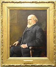 Adolfo Muller-ury (1862-1947) Portrait of James Jerome Hill (1838-1916) oil on canvas, circa 1902 signed lower right: Muller-ury ...