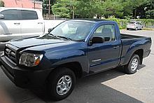 2006 Toyota Tacoma pick-up truck, 4 cylinder, 2 wheel drive, dark blue, custom bedliner and mats, very good condition, 61,000 miles