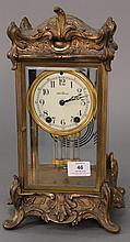 Seth Thomas Louis XV style regulator clock. ht. 14 in.