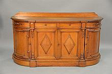 Victorian sideboard. ht. 41 1/2 in.; wd. 78 in.; dp. 24 in.