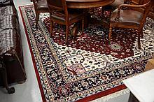 Oriental carpet, 9' x 12'.