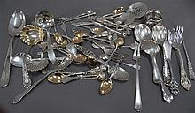 Large group of sterling flatware, 23.7 t oz.