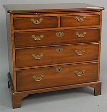 Kittinger Colonial Williamsburg Chippendale style chest, ht. 30 in.; wd. 30 in.