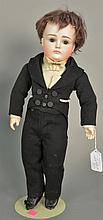 Kestner X1 pouty bisque head doll. lg. 16 in.