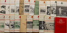 Aston Martin Club publications - 1949 thru 1970's, some binders included