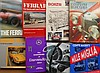 Lot of Ferrari, Mercedes Benz and other misc European car books