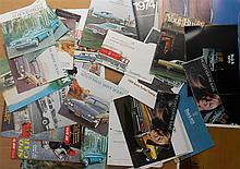 1940'-70's Buick brochures, 79 items