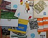 1960's-1970's MG B, Austin Mini, Sprite, Midget, etc brochures, 50 items