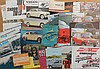 1950's-early 1970's import brochures - Volvo, Honda, Saab, Eastern Euro, etc, 30 items