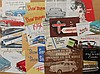 1940's-1950's Packard, Studebaker and Crosley brochures, 48 items