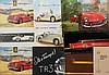 Triumph brochures - TR 2, TR 3, TR 4, TR 250, TR 6, TR 7, TR 8 and others, 37 items