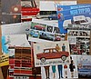 1950's-1960's BMW, Borgward, Opel, NSU brochures, 52 items