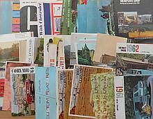1960's Chevrolet, Nova, Corvair, Chevy II brochures, 78 items