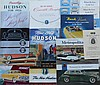 1940's-1950's Hudson and Nash brochures, 39 items