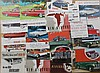 Late 1930's-60's Mercury, 1950's-60's Edsel, Cougar, Comet brochures, 62 items
