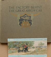 1908 Pierce Great Arrow - Facts behind the Great Arrow Car hardcover book and 1904 Pierce folder