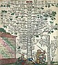 Bavaria. Genealogical tree. Colored copper-engraving. 56x49cm,R.