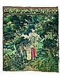 A FLEMISH OR FRENCH TAPESTRY FRAGMENT, 1st half 18th ct. 220 x 195 cm E1500 EUR