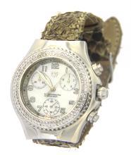 Technomarine chrono/diamonds watch
