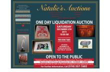 DECEMBER 5TH, ONE DAY LIQUIDATION AUCTION