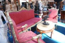 Three Piece Salon Set