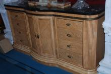 Long Sideboard with Marble Top