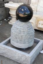 Granite Fountain, Black & Gray, 36 Inches  x 26 Inches