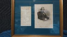 Presidential Autograph Andrew Johnson