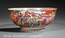 Chinese Export Porcelain Punchbowl