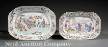 Chinese Export Famille Rose Porcelain Platters