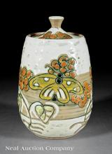 Shearwater Pottery Covered Biscuit Jar