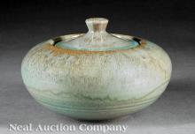 Shearwater Pottery Covered Jar