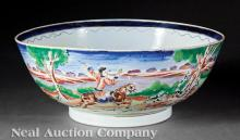 Chinese Export Porcelain Centerbowl