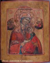 Russian Icon of the Virgin and Child