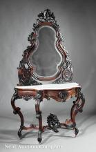 Rosewood Duchesse Dressing Table, attr. Belter