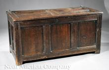 William and Mary Oak Blanket Chest