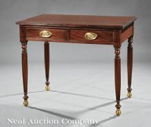 American Federal-Style Mahogany Dressing Table