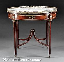 Gilt Bronze-Mounted Mahogany Bouillotte Table