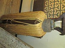 A Bamana Carved Wood Chiwara Headdress