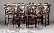 Southeast Asian Mother-of-Pearl Hardwood Chairs