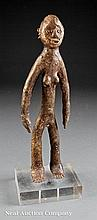 A Mossi Bronze Female Figure