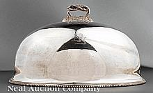 An English Silverplate Venison Dome