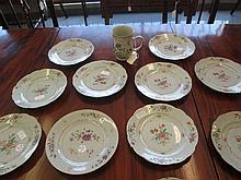 Chinese Export Famille Rose Porcelain Dishes