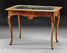 A French Provincial Fruitwood Writing Table