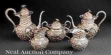 A.G. Schultz & Co Sterling  Tea & Coffee Service